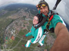 Skydiver over 80